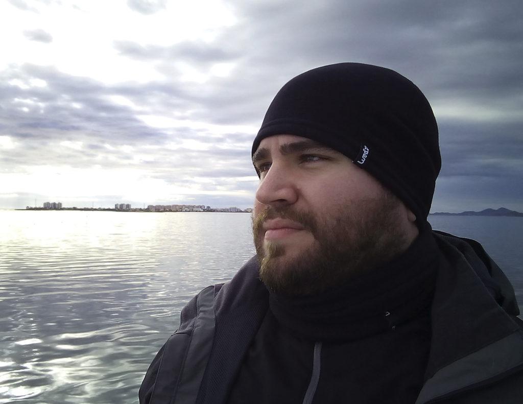 Julio D. Suárez en el Mar Menor